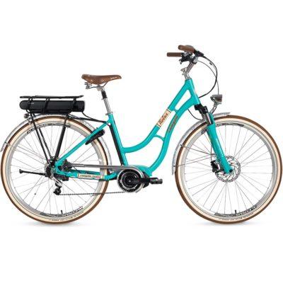 CANYON 2018 Relax Elektrovelo City-Bike Tiefeinstieg Pistazie