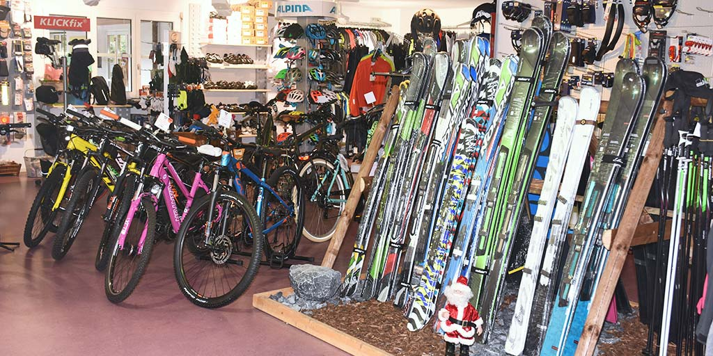 Bike do it Shop innen Ski Wintersport Bike