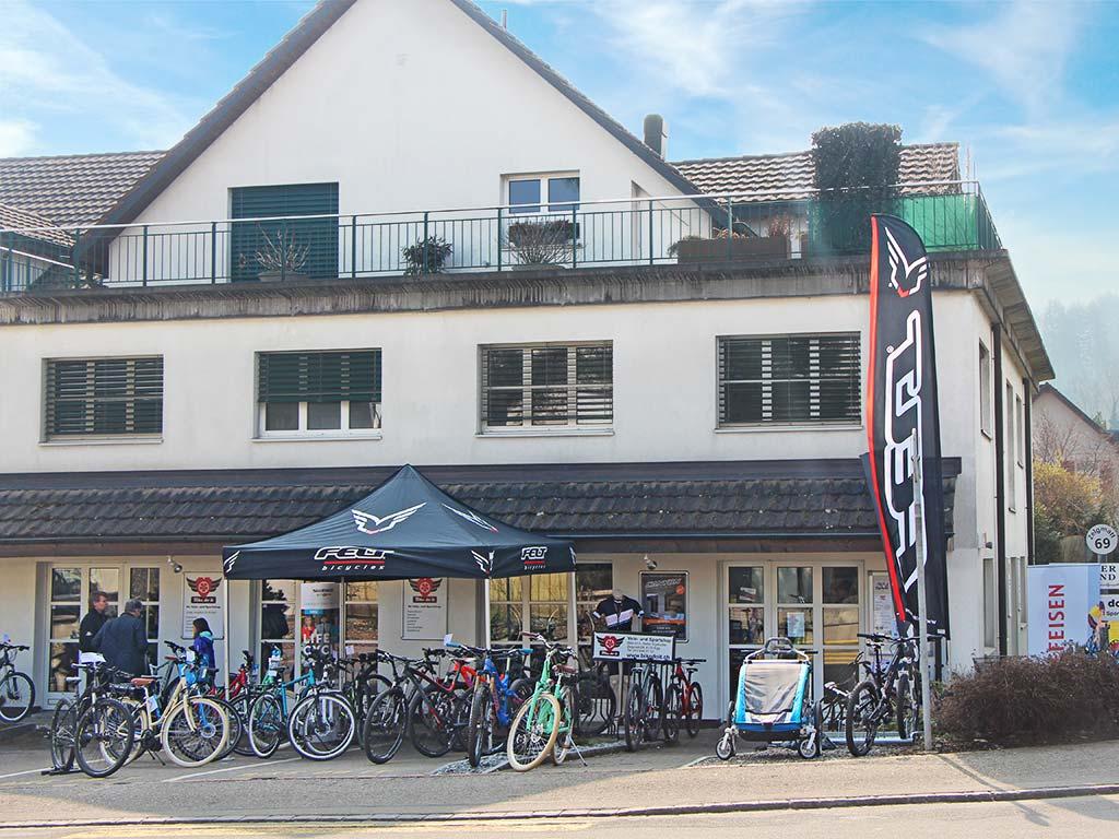 Bike do it Egg Zurich Bike Shop Veloladen aussen