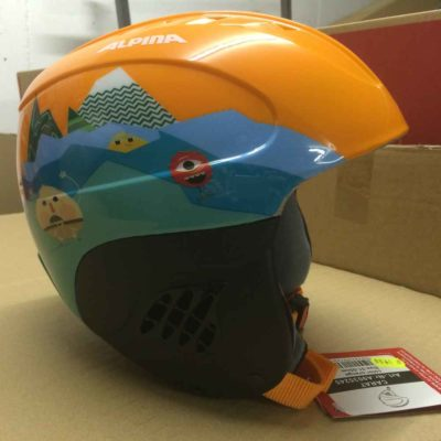 Skihelm Kinder ALPINA CARAT orange