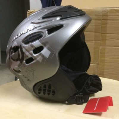 Skihelm ALPINA SCARA anthrazit