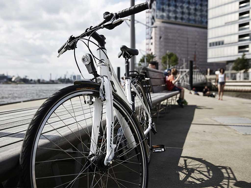 City Bikes Urban Trekking Velos
