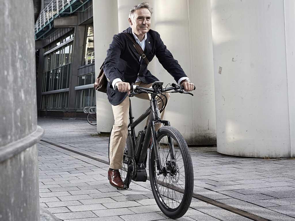 Elektrovelos City Bikes Urban
