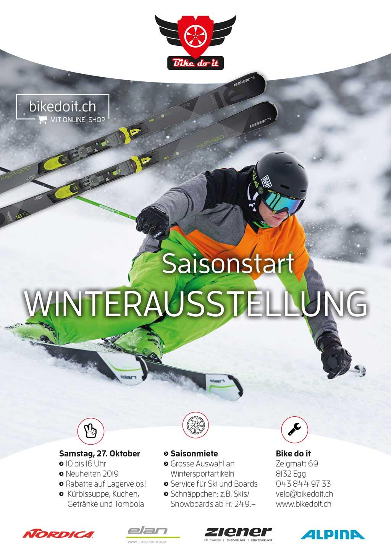 Flyer Saisonstart Wintersaison 2018-19