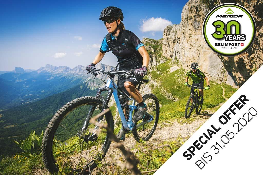 Special Offer MERIDA Bikes Mai 2020
